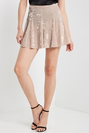 MaiTai Velvet Skater Skirt - Product Mini Image