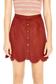 MaiTai Woo Pig Suedie Skirt - Product Mini Image
