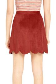 MaiTai Woo Pig Suedie Skirt - Front full body