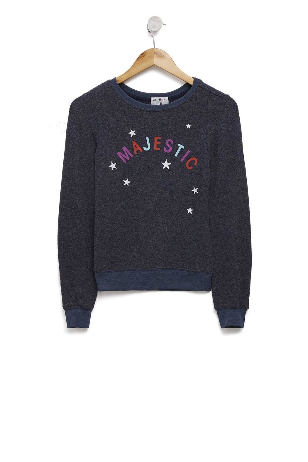 Wildfox Kids Majestic Baggy-Beach Jumper - Main Image