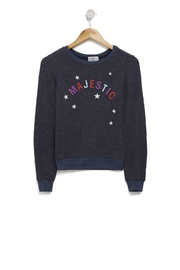 Wildfox Kids Majestic Baggy-Beach Jumper - Front cropped