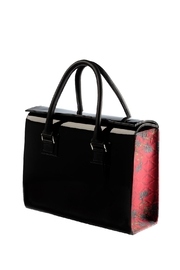 Majo Capella Patent Leather  Bag - Front cropped