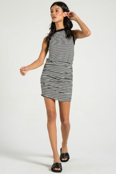 N: Philanthropy Majorca Striped Dress - Product List Image