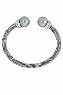 Shoptiques Product: Gray Pearl Bangle