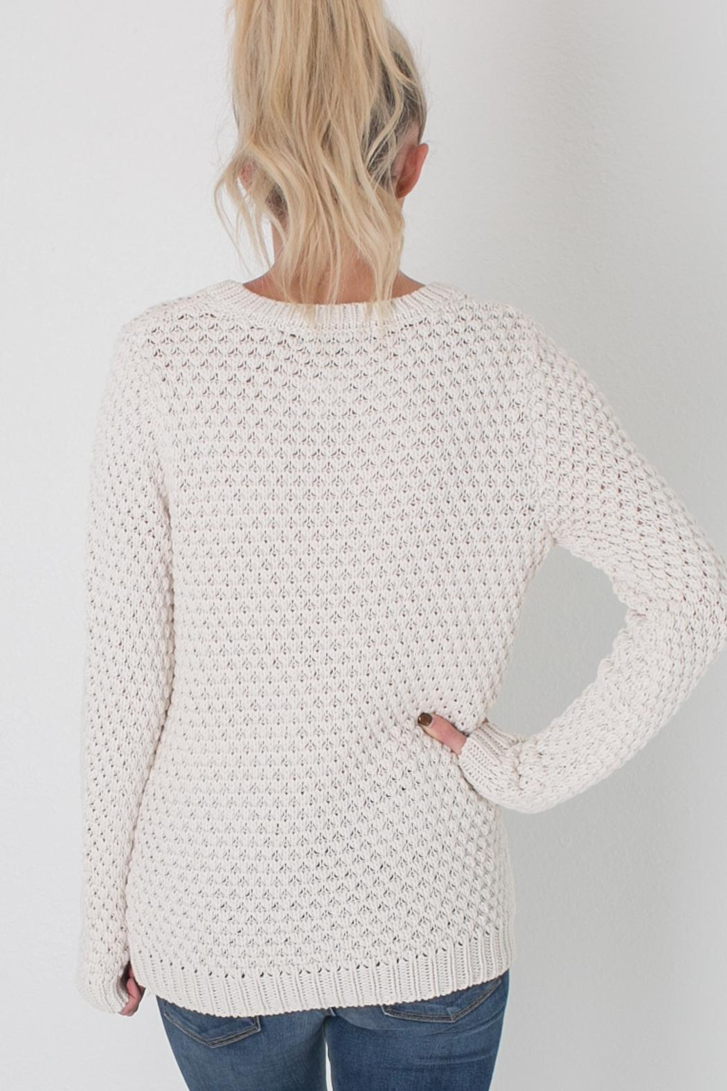 MAK Cream Knit Sweater from Colorado by Apricot Lane - Centennial ...