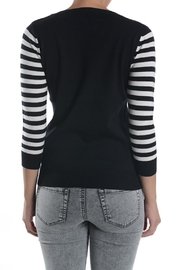 MAK Meow Cat Sweater - Back cropped