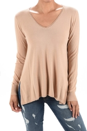 MAK Soft Basic Sweater - Front cropped