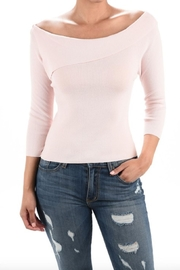 MAK Soft-Pink 3/4-Length Sleeve - Front cropped