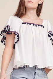 BB Dakota Makari Flutter-Sleeve Top - Product Mini Image