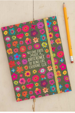 Natural Life Make a Difference Notebook - Alternate List Image