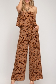 She and Sky Make Me Smile Jumpsuit - Front cropped