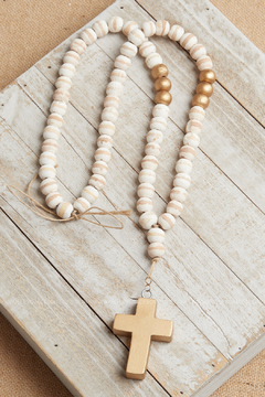 Shoptiques Product: Make Peace Wood Beads