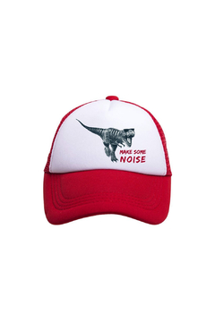 Shoptiques Product: Make Some Noise Dino Trucker Hat