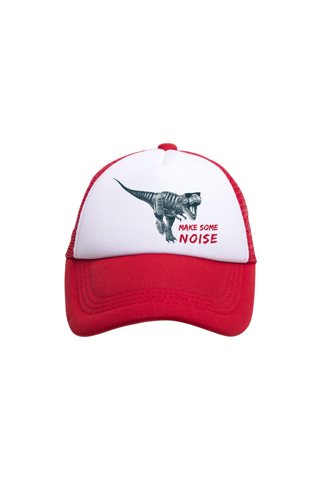 Tiny Trucker Make Some Noise Trucker Hat - Front Cropped Image