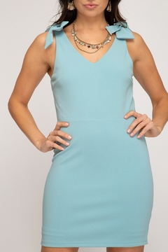 She and Sky Make The Statement Dress - Product List Image