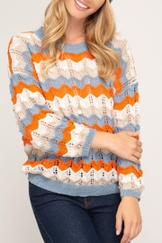 She and Sky Make Your Day Sweater - Product Mini Image