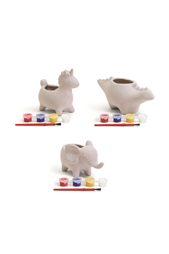 Cupcakes & Cartwheels Make Your Own Animal Planter - Product List Image