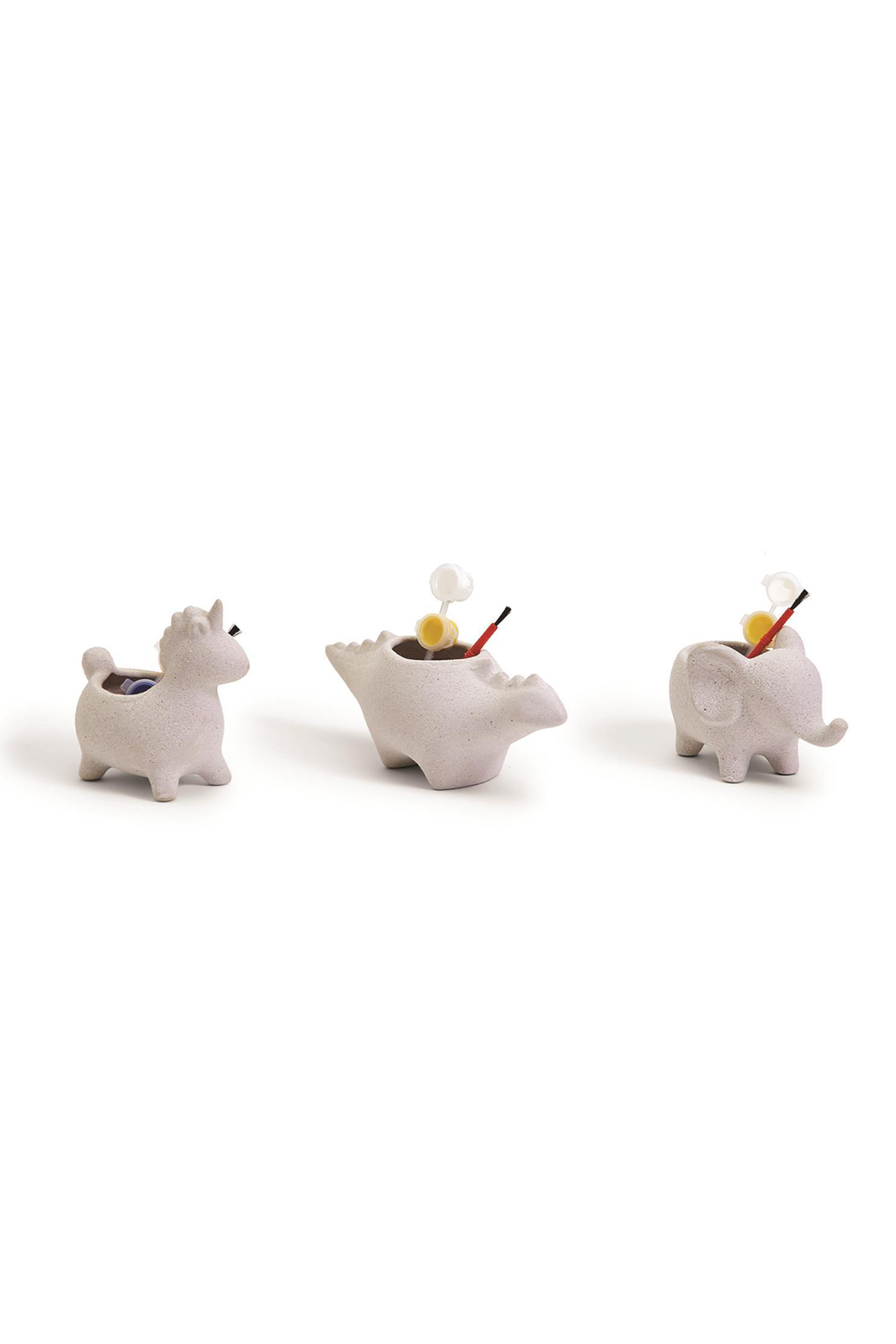 Cupcakes & Cartwheels Make Your Own Animal Planter - Front Cropped Image