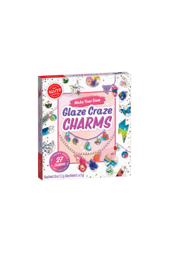 Klutz Make Your Own Glaze Craze Charm Craft Kit - Product List Image