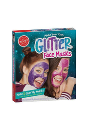 Klutz Make Your Own Glitter Face Masks - Product Mini Image