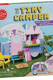 Klutz Make Your Own Tiny Camper Craft Kit - Product Mini Image