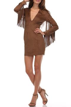 Shoptiques Product: Fringe Mini Dress
