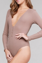 makers of dreams Snap Button Bodysuit - Front full body