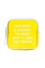 About Face Designs Makeup Bag - Front cropped