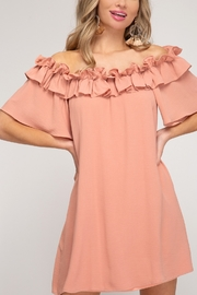 She and Sky Making Memories Dress - Front cropped
