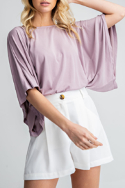 Glam Apparel Making Memories Top - Front cropped