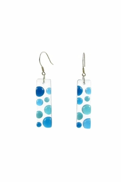 Shoptiques Product: Bubbles Glass Earrings