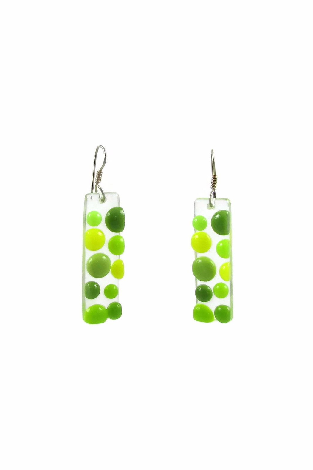 Maku Bubbles Glass Earrings - Front Cropped Image