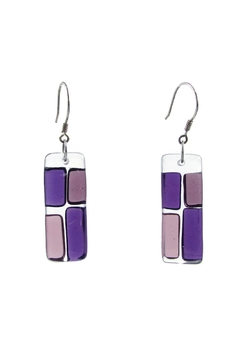 Maku Cobblestones Glass Earrings - Product List Image