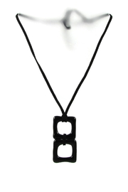 Maku Duo Glass Necklace - Product Mini Image