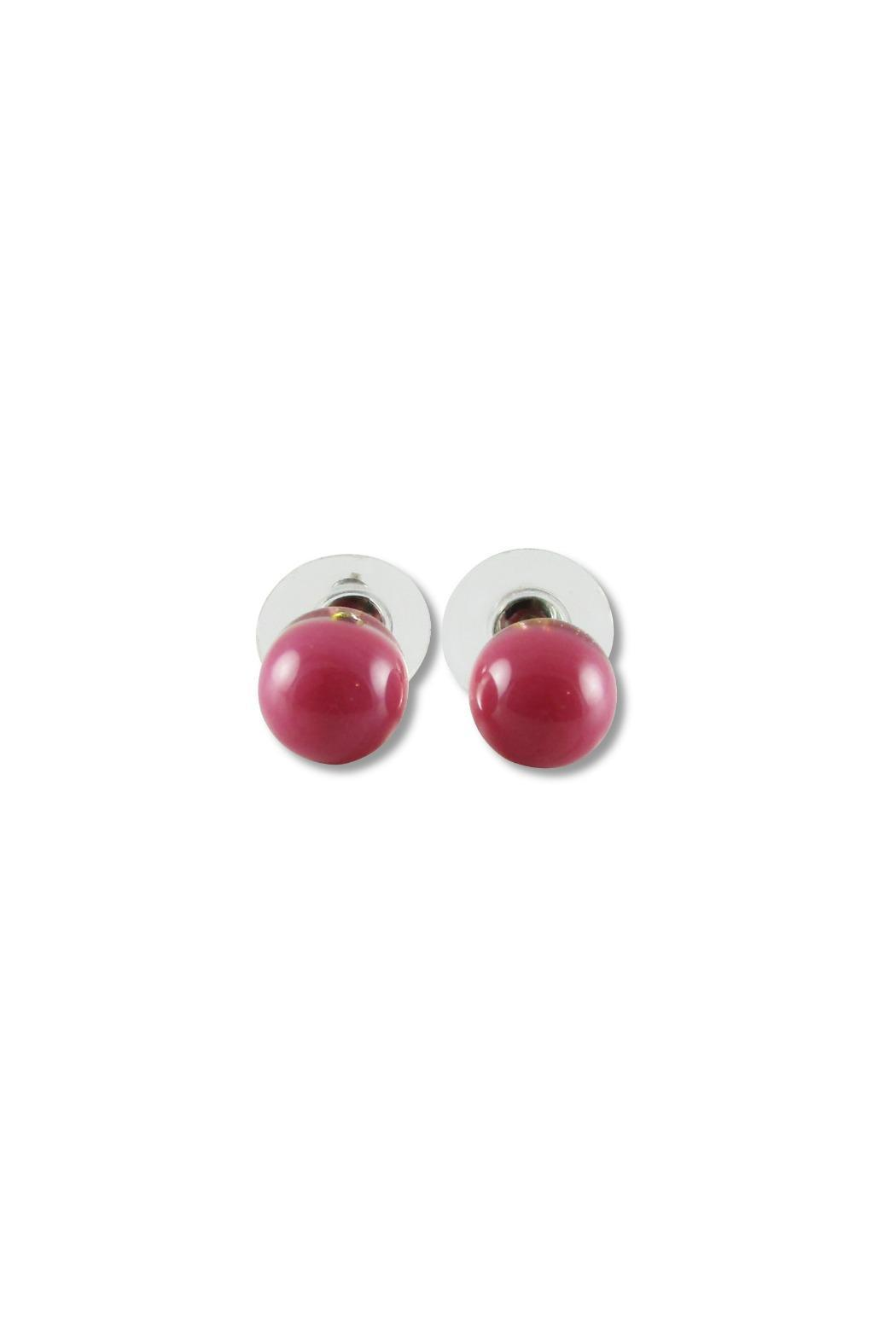 Maku Glass Ball Studs - Front Cropped Image