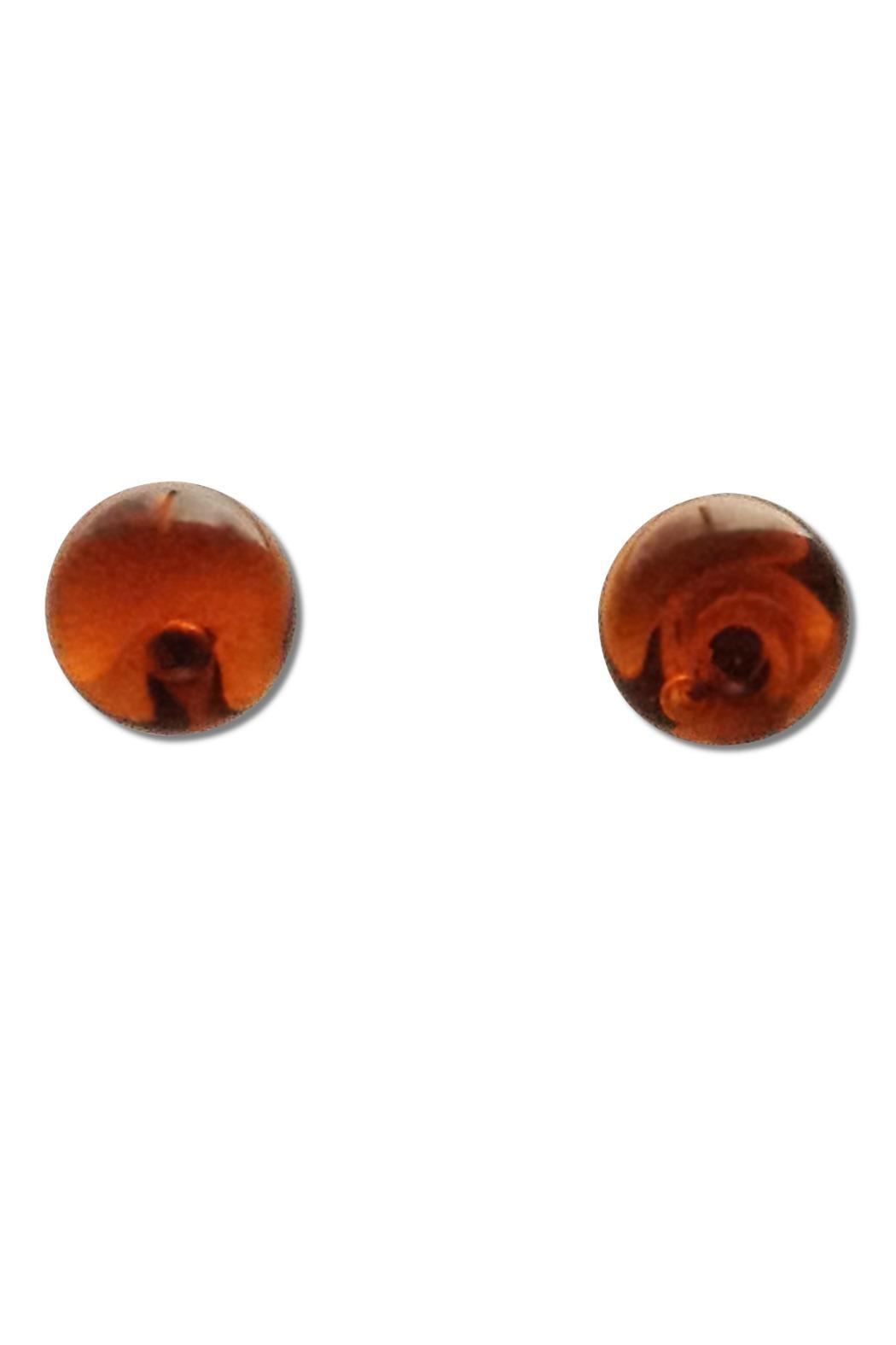 Maku Glass Ball Studs - Side Cropped Image