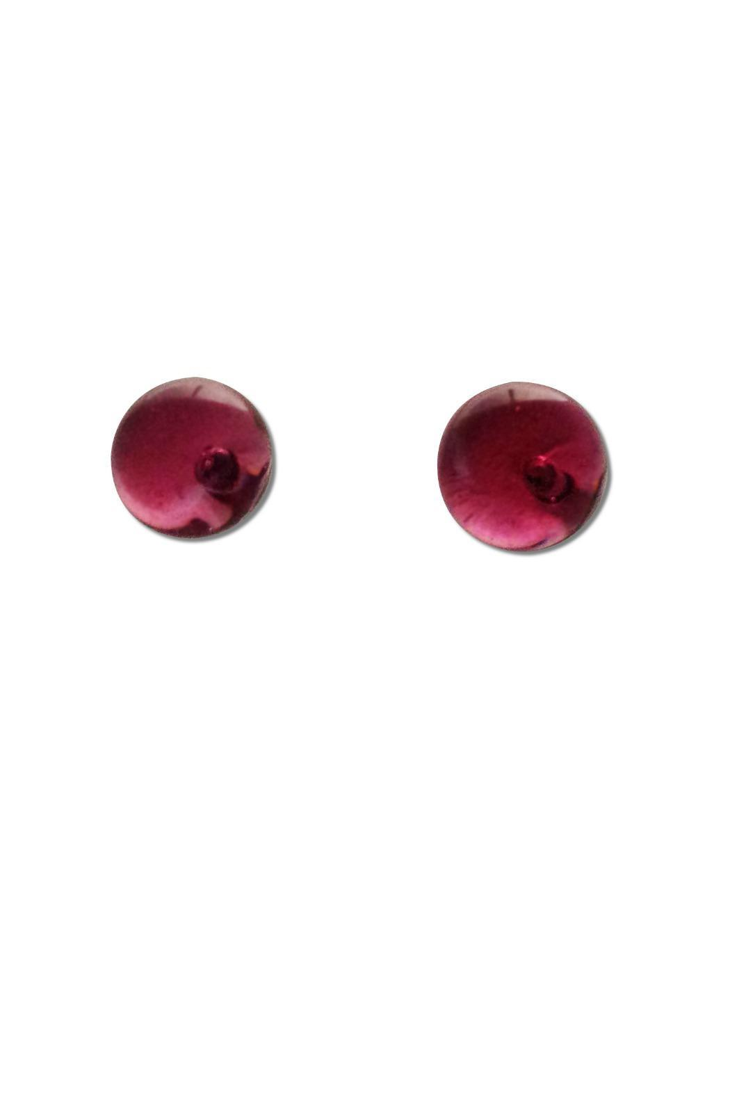 Maku Glass Ball Studs - Front Full Image