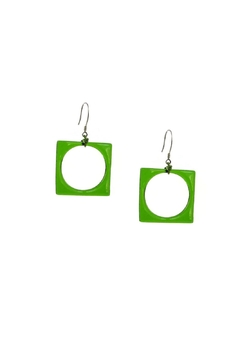 Maku Hoyo Glass Earrings - Alternate List Image