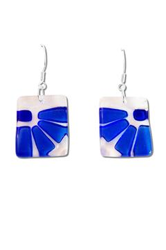 Maku Lama Glass Earrings - Alternate List Image