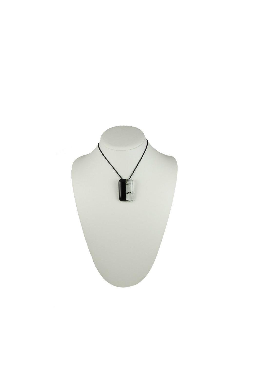 Maku Mitad Glass Pendant - Side Cropped Image
