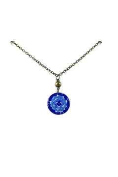 Maku Mosaic Medallion Necklace - Product List Image