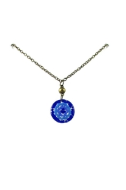 Maku Mosaic Medallion Necklace - Product Mini Image