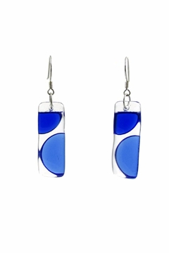 Maku Onda Glass Earrings - Alternate List Image