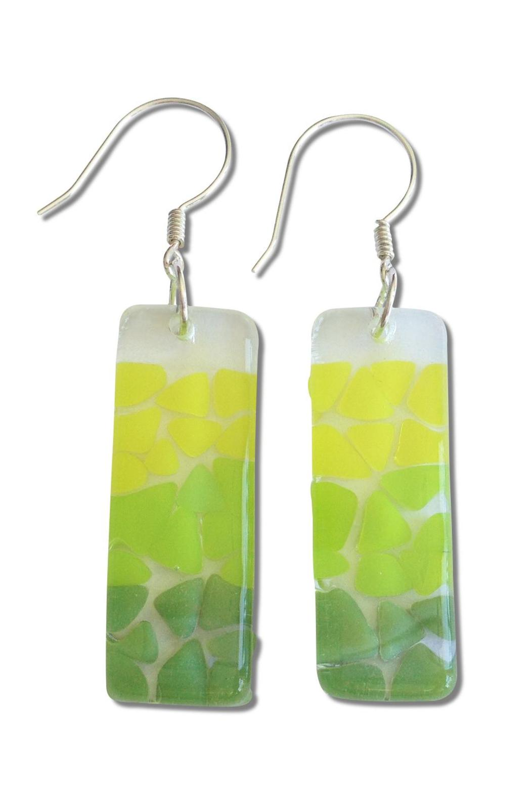 Maku Picado Glass Earrings - Front Cropped Image