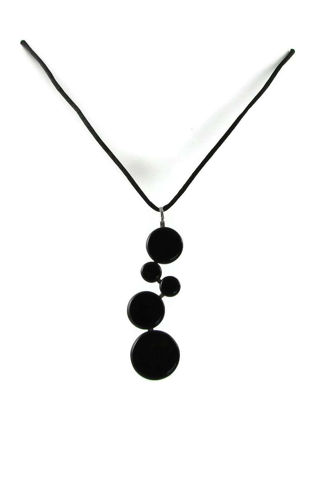 Maku Pop! Glass Necklace - Front Cropped Image
