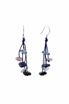 Maku Zen Glass Earrings - Alternate List Image