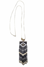 Makua Jewelry Niebla Negra Necklace - Front cropped