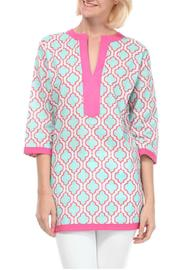 Malabar Bay Chelsea Aqua Tunic - Product Mini Image