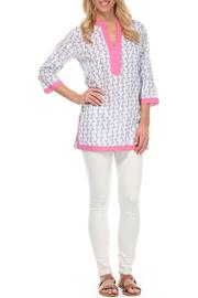 Malabar Bay Vivienne Lavender Tunic - Product Mini Image