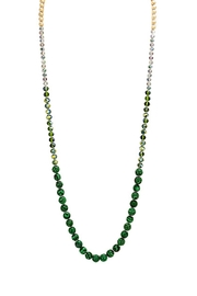 Wild Lilies Jewelry  Malachite Beaded Necklace - Product Mini Image
